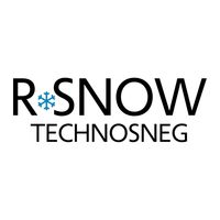 new LOGO R-SNOW - TECHNOSNEG white with spaces-sq